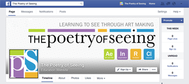 The Poetry of Seeing Facebook Screen Capture