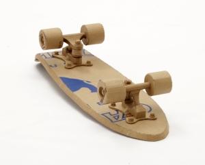 cardboard_art_gilmour_skateboard