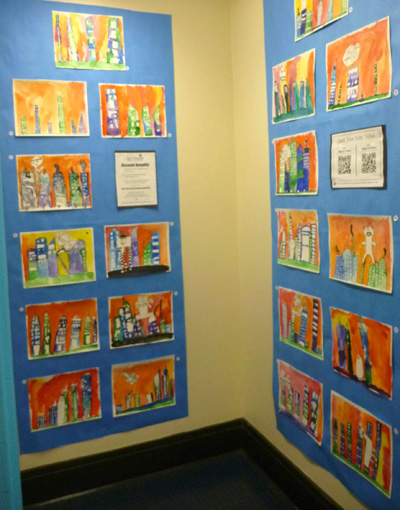 2015 Art Showcase: First Grade Student Work Sample
