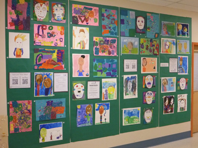 2015 Art Showcase: Second Grade Student Work Sample