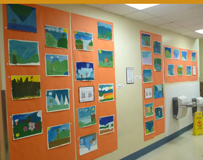2015 Art Showcase: Third Grade Student Work Sample
