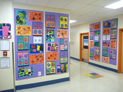 2015 Art Showcase: Kindergarten Student Work Sample