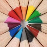 Colored pencils are fine option to use on your adult coloring book.