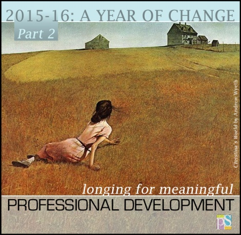 Meaningful professional development for art teachers can be challenging to come by. What has inspired you?