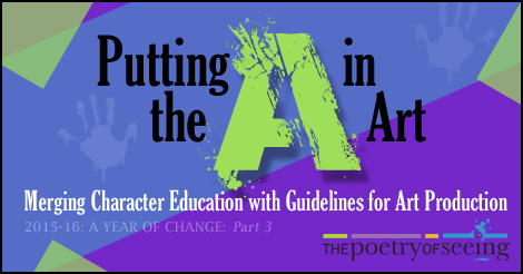 Merging Character Education with Guidelines for Art Production.