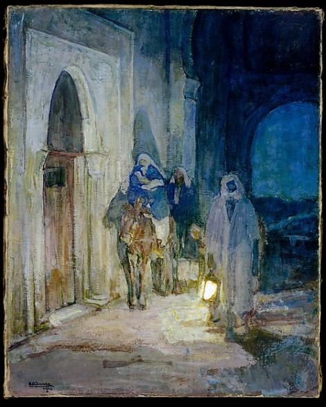 Flight Into Egypt (1923) by Henry Ossawa Tanner