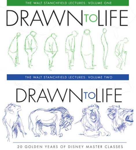 Drawn to Life Volumes 1 & 2 by Walt Stanchfield