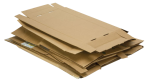 Cardboard sheets are usefull in both elementary, middle and high school art rooms.