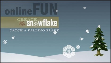Create your own snowflake with this fun online application.
