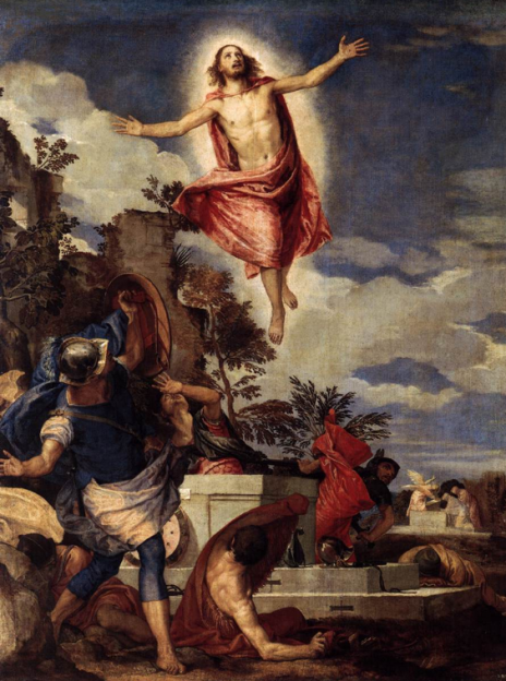 Paolo Veronese, The resurrection of Christ